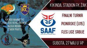 Fleg liga (U15): Finalni turnir u Kikindi